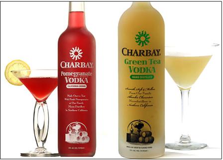 Vodka de té verde o de granadas