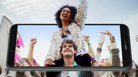 Huawei Y6 2018: la gama económica estrena pantalla 18:9 y confía la seguridad al desbloqueo facial