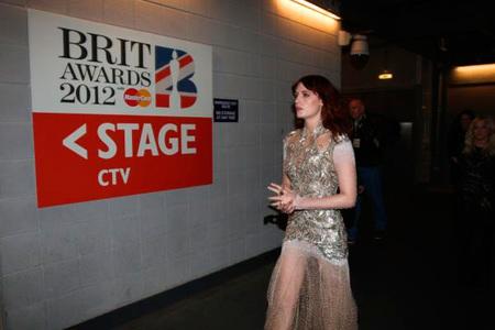 Florence Welch en los Brit Awards