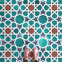 Inspiración marroquí en los suelos vinílicos para el verano