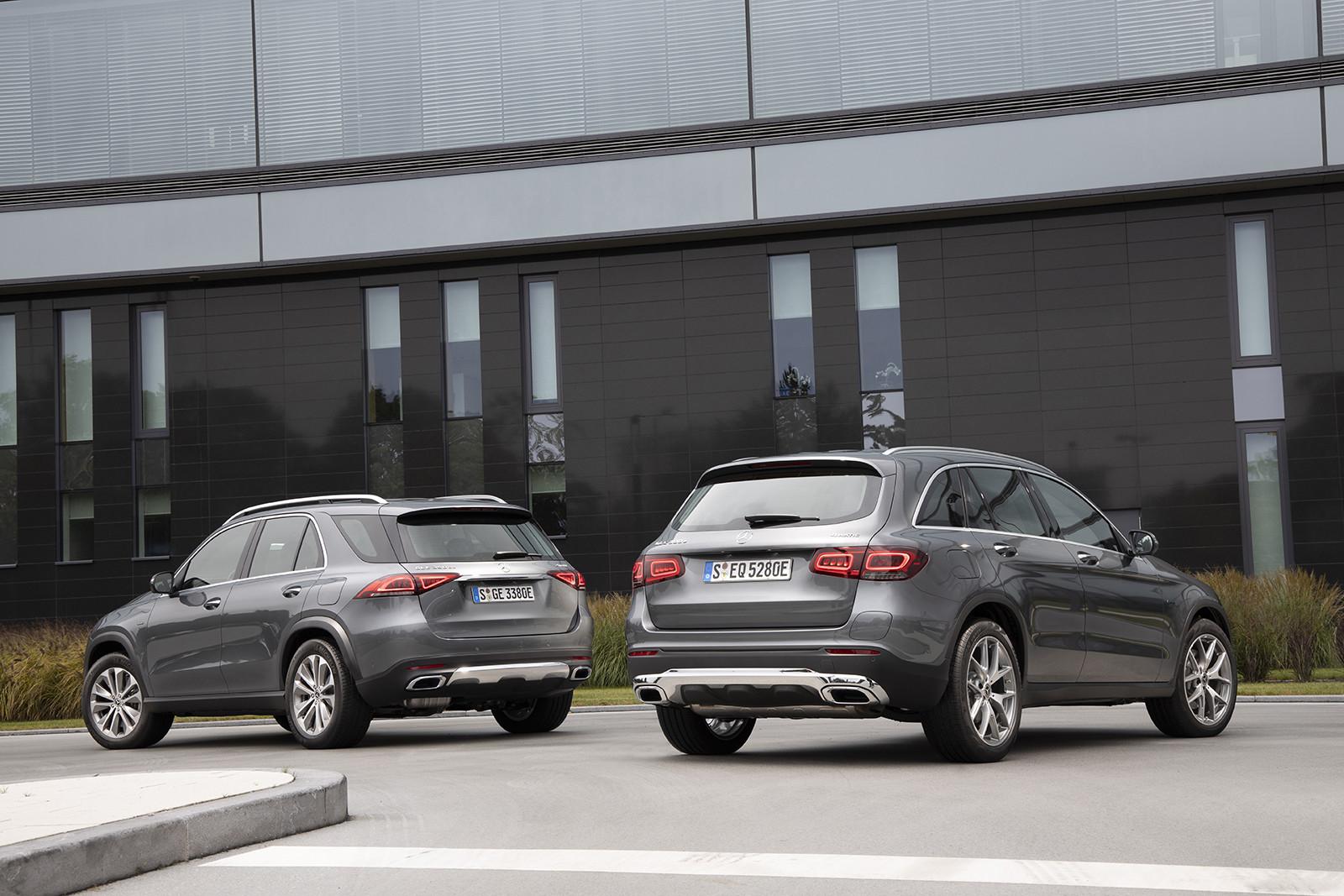 Foto de Mercedes-Benz GLE 350e y GLC 300e (2/26)
