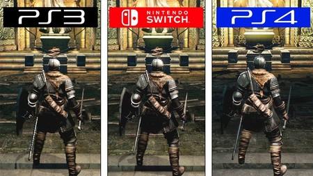 Dark Souls: las versiones de PS3, PS4 y  Nintendo Switch frente a frente en una comparativa a pantalla dividida