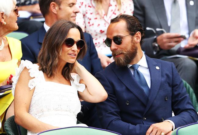 James Middleton luce el perfecto look elegante-sport en el torneo de Wimbledon