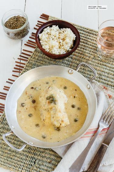 Pescado en salsa de nuez y vino blanco: receta