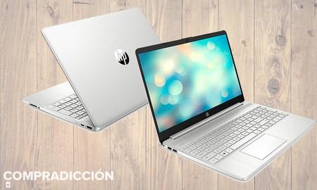 Ahorra a la vuelta de vacaciones estrenando un completo portátil de gama media como el HP 15s-fq2041ns: Amazon te lo deja por 539 euros