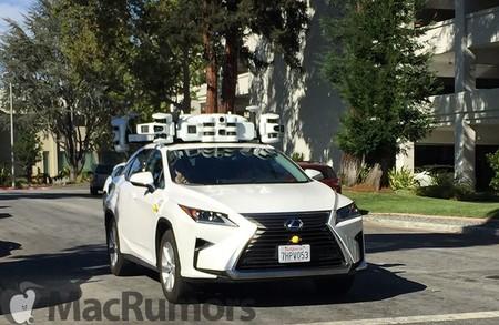 Los coches de prueba de conducción autónoma de Apple tienen un nuevo LIDAR y ahora parecen una especie de Transformers