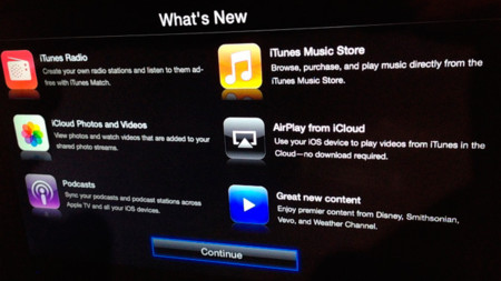 El Apple TV se actualiza a la versión 6.0 con soporte de iTunes Radio y AirPlay desde iCloud entre otras novedades