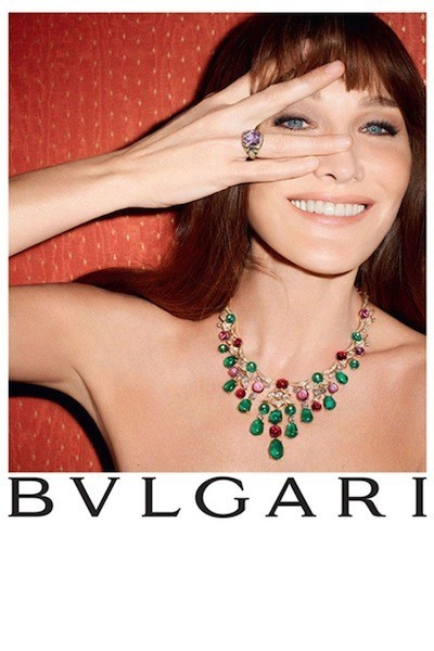 ¿Quién es la diva de Bulgari? Nada más y nada menos que Carla Bruni