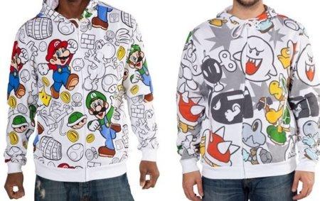 Navidad 2011: sudaderas de Super Mario y sus villanos