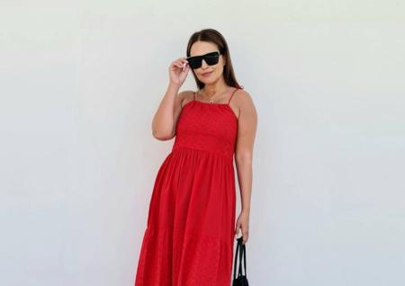 Paula Echevarría tiene el vestido rojo del verano y encima su precio es 'low cost'