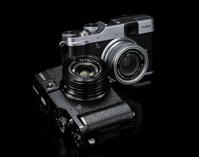Fujifilm X20 en dos colores