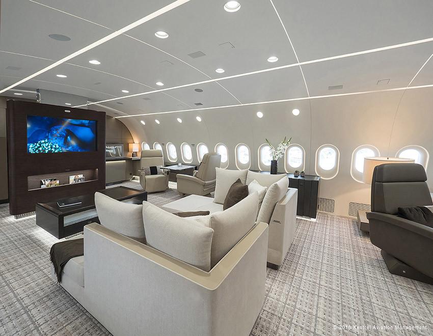 Foto de Kestrel Boeing 787 (4/8)