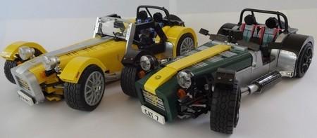 Caterham Super Seven de LEGO: molando por partida doble