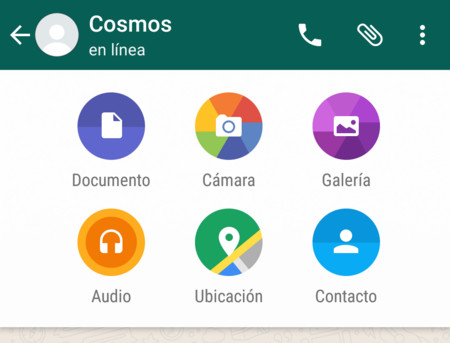 Cómo enviar documentos con WhatsApp para Android