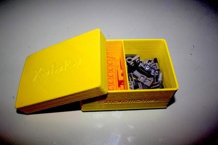 Detalle de los separadores de la caja de Sergio
