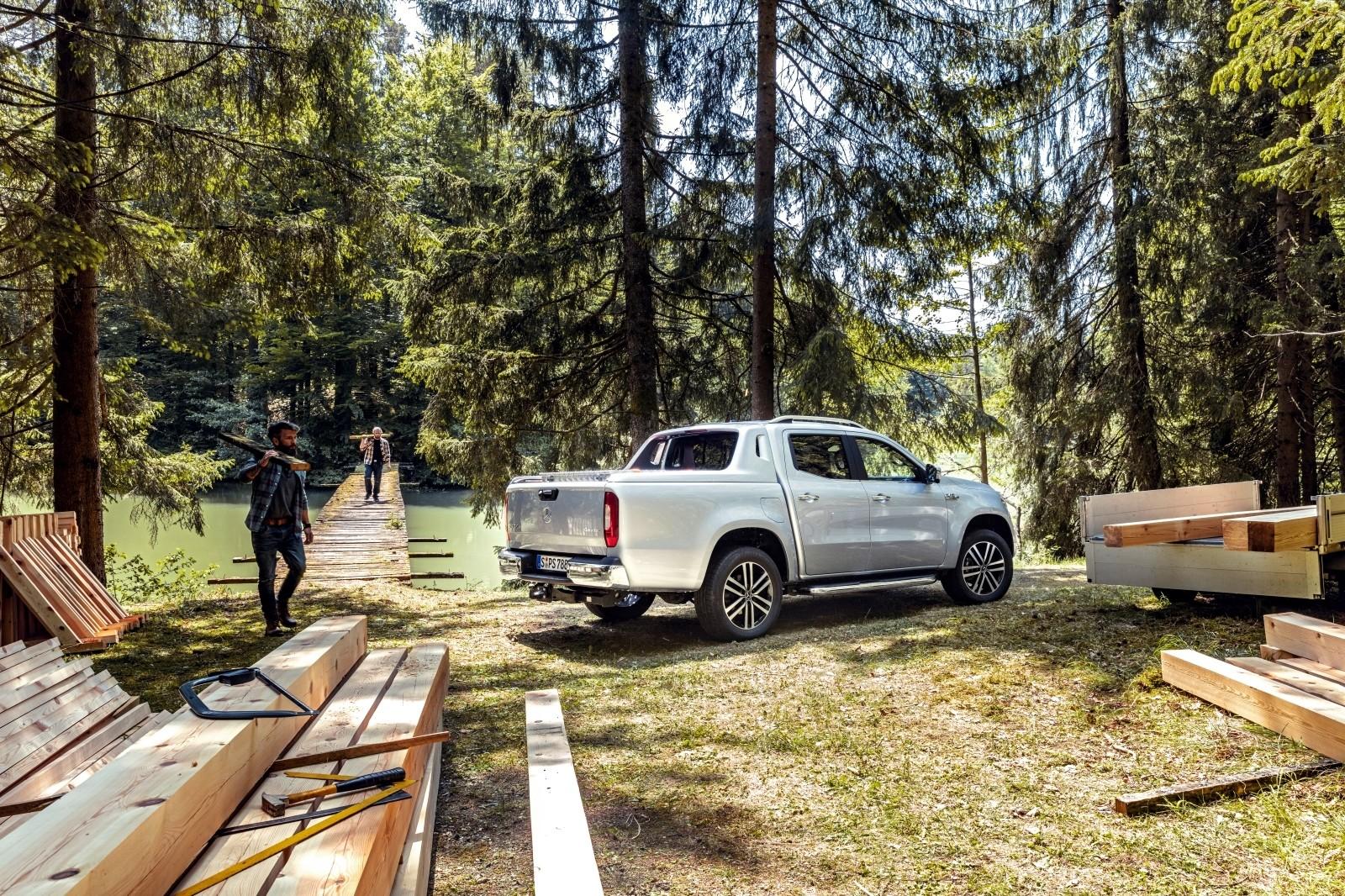 Mercedes-Benz Clase X 350d 2019 prueba contacto