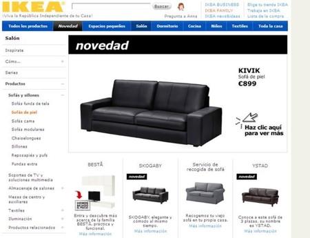 Rebajas de invierno 2012 buscando un sof de piel en la red for Rebajas sofas de piel