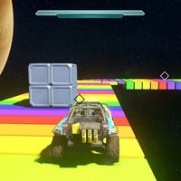 El circuito de Rainbow Road de Super Mario Kart es recreado en Halo 5