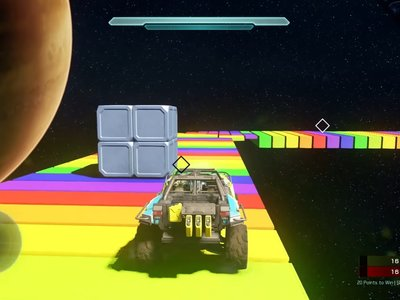 El circuito de Rainbow Road de Super Mario Kart es recreado en Halo 5