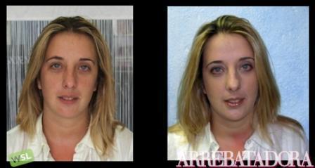 Un maquillaje de día de tonos naturales: foto del antes y del después