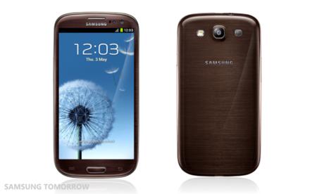Samsung anuncia tres nuevos colores para su Galaxy SIII: Marrón, gris y negro