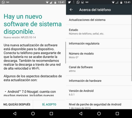 Moto G 4 Att Actualizacion Android Nougat