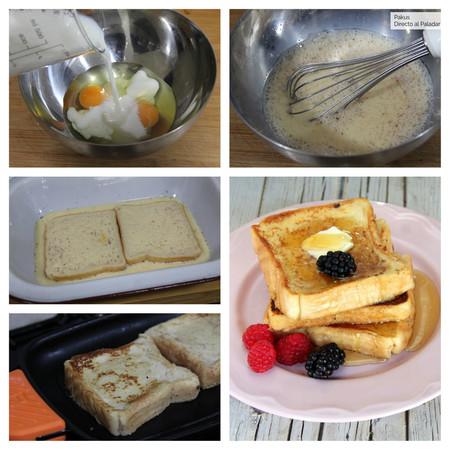 French Toast Tostadas Francesas Pasos Pakus Dap