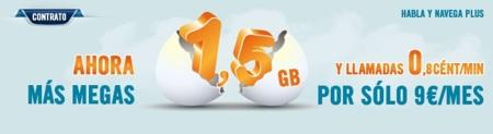 Happy Móvil lanza una nueva tarifa de voz y datos con 1.5 Gb por nueve euros mensuales