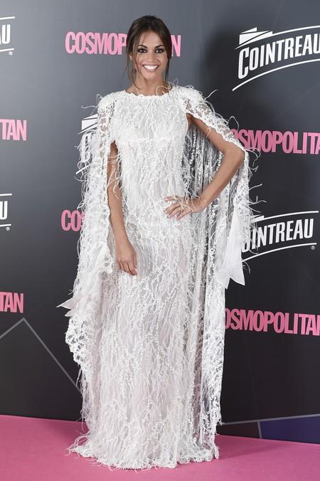 premios cosmopolitan 2017 alfombra roja look estilismo outfit Lara Alvarez