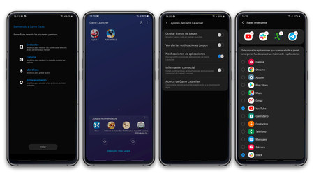 Samsung Galaxy A80 Game Launcher