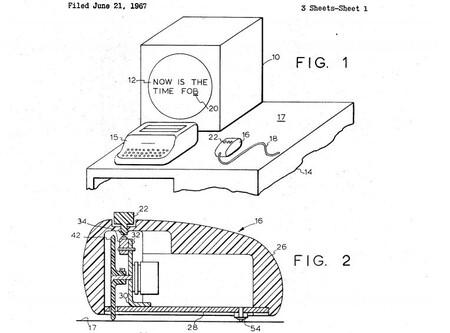 Patente Mouse Engelbart