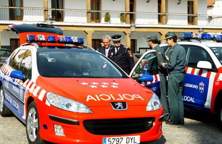 Peugeot 407 SW policial