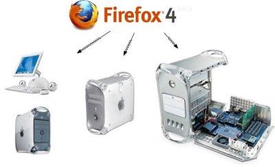 Firefox 4 abandona el soporte a la plataforma PowerPC