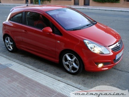 Opel Corsa GSi, prueba (parte 3)