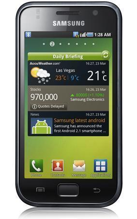 SamsungGalaxy S, el terminal Android que esperábamos por parte de la compañía coreana