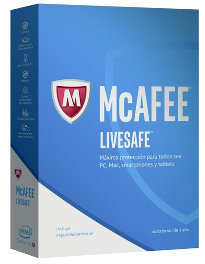 McAfee LiveSafe 2017