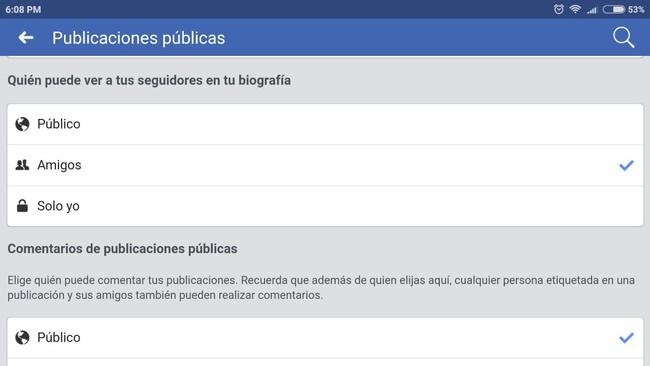 Facebook Privacidad 6