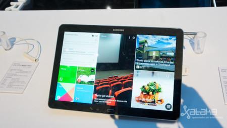 Samsung Galaxy Note Pro, toma de contacto en vídeo
