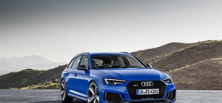 El Audi RS4 Avant quiere hacer feliz a la familia con un 0 a 100 km/h en 4.1 segundos
