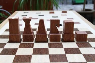 Detalle para la casa de... un jugador de ajedrez