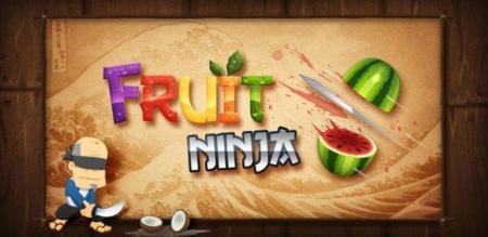 Imagen promocional de Fruit Ninja.