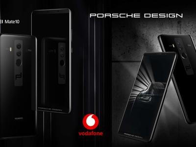 Huawei Mate 10 Porsche en exclusiva con Vodafone desde 1.296 euros