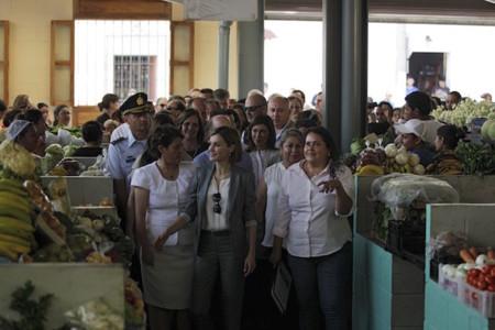 Letizia En El Salvador Viaje De Cooperacion