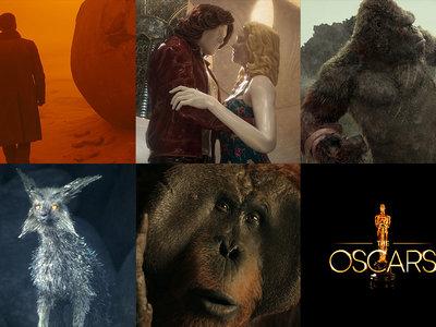 Éstas son todas las películas nominadas al Óscar 2018 a los mejores efectos visuales