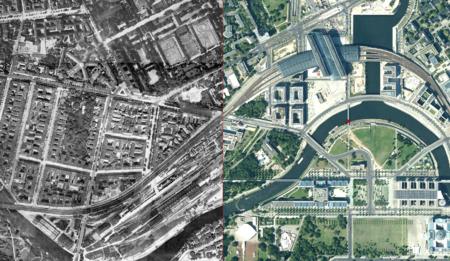 Berlín 1928, Berlín 2016: la transformación de la ciudad en un siglo, vista desde el aire