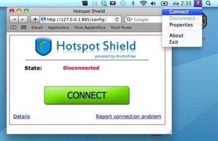 Hotspot Shield, protección y anonimato para la navegación en internet