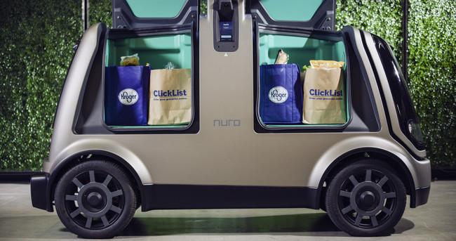 Esta será la primera tienda de autoservicio que entregará tus víveres a bordo de coches autónomos