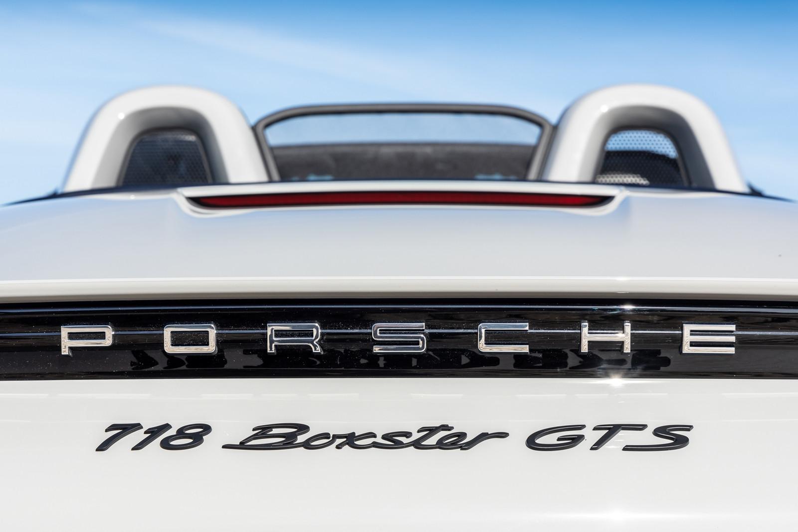 Foto de Porsche 718 Boxster GTS 4.0 (presentación) (64/88)