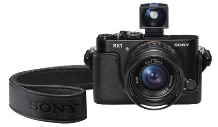 Sony RX1 con visor y funda