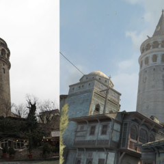 assassins-creed-revelations-estambul-3d-vs-real